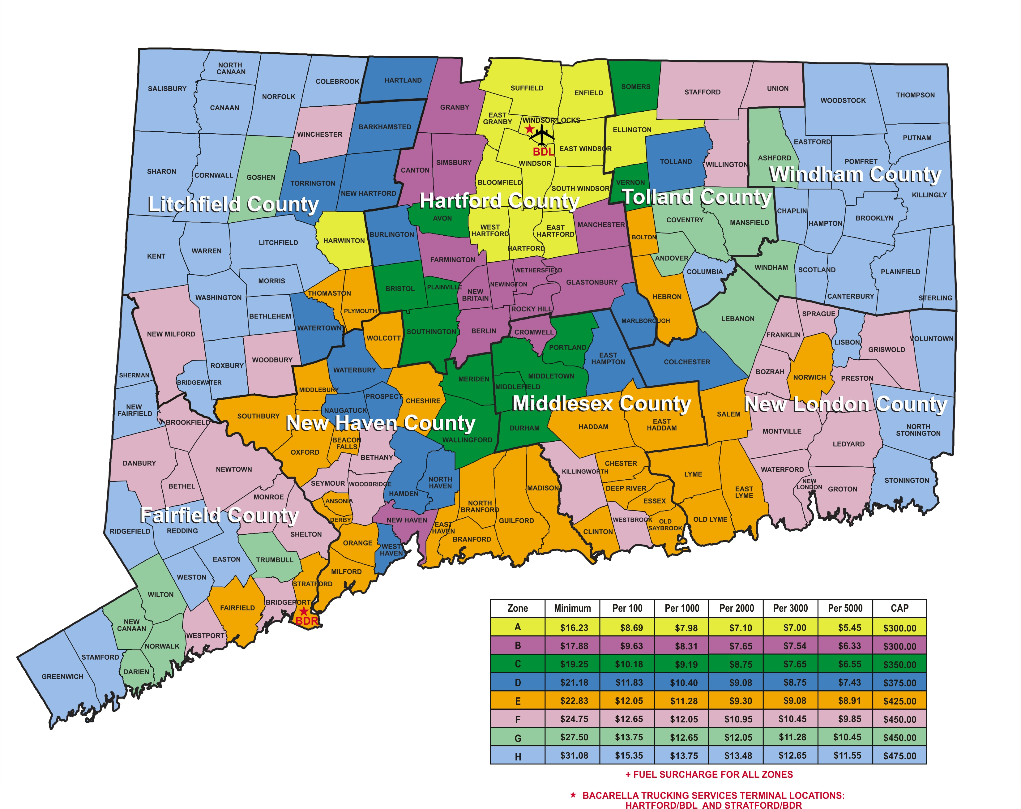 Similiar Map Of Ct Towns And Counties Keywords